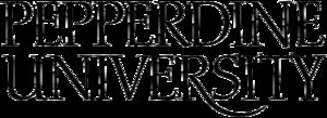 Graziadio School of Business and Management - Image: Pepperdine University logo