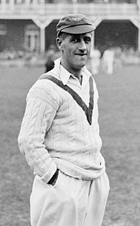Percy Holmes English cricketer