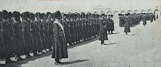 Persian Cossack Brigade - The Persian Cossack Brigade c. 1920