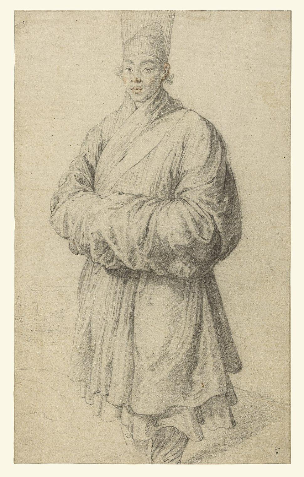 Peter Paul Rubens - Man in Korean Costume, about 1617
