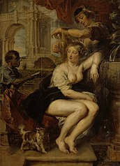 Bathsheba at Her Toilet