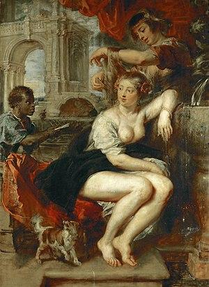 Bathsheba at Her Toilet