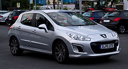 peugeot 308 wikipedie. Black Bedroom Furniture Sets. Home Design Ideas