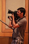 Photographers at Wiki Loves Stuff session at Wikimania 2013 - KTC 02.JPG