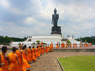 Bhikkhu - Image: Phutthamonthon Buddha