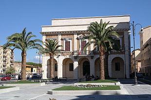Palazzo Granducale in Livorno, the provincial seat.
