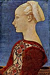 Piero del Pollaiolo - Profile Portrait of a Young Lady - Gemäldegalerie Berlin