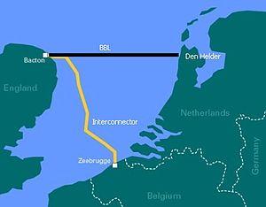 BBL Pipeline - Image: Pijpleiding Belgie Nederland naar het Verenigd Koninkrijk