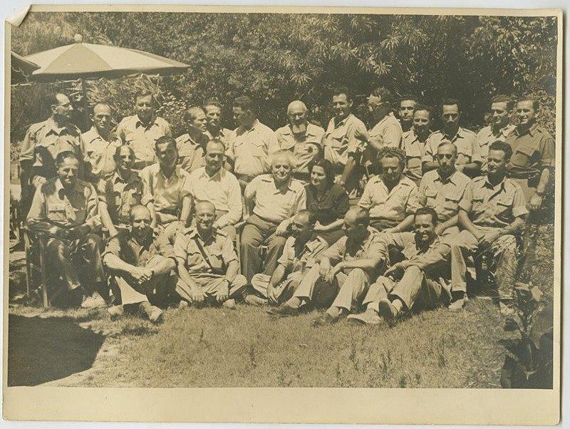 בן גוריון והמטכל 1948