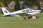 Piper PA28-160 Cherokee 'G-BSLM' (32951835291).jpg