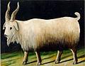 Pirosmani. Nanny Goat (Cardboard 49x80).jpg