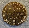 Pistole, V Thaler, Westfalen Kingdom, 1810 - Bode-Museum - DSC02610.JPG