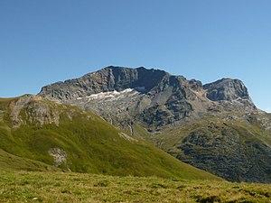 Piz Grisch - Piz Grisch from Alp Andies (north side)