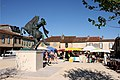 Place d'Artagnan. Lupiac. Gers.jpg