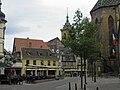 Place des Martyrs-de-la-Résistance, couvent des Dominicains, collégiale Saint-Martin (Colmar).jpg