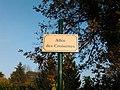 Plaque Allée Croisettes St Cyr Menthon 2011-11-11.jpg