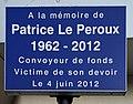 Plaque Patrice Le Peroux (convoyeur) - plaque à Aubervilliers.JPG