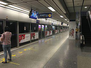 Sukhumvit MRT station railway station