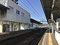 Platform of Karatsu Station 5.jpg
