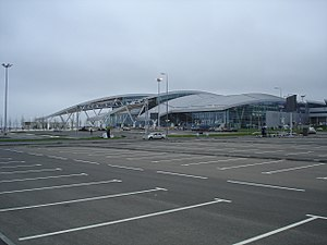Platov International Airport - Image: Platov Aero (2)