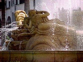 "Francisco Narváez - ""Las Toninas"" (The Dolphins) in the Plaza O'Leary"