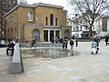 Plaza in front of the Saatchi Gallery - geograph.org.uk - 1808539.jpg