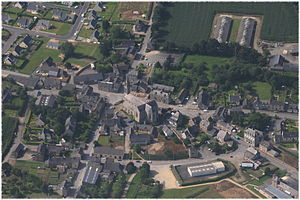 Plouasne - An aerial view of Plouasne