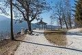Poertschach Halbinselpromenade Landspitz Pavillon 21012016 0273.jpg