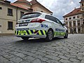 Police car in Prague - Voiture de police dans Prague - CZ Praha 09.jpg