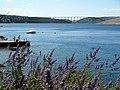 Pont de l'illa de Krk des de la platja d'Ostro - panoramio.jpg
