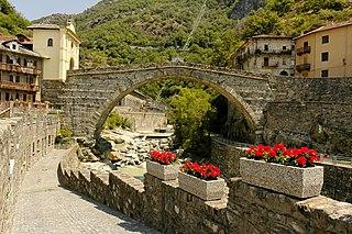 bridge in Italy, built by Romans