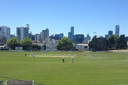 How to get to Port Melbourne Cricket Ground in Melbourne by