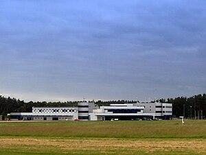 Solidarity Szczecin–Goleniów Airport - Image: Port lotniczy Szczecin Goleniów