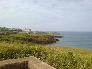 Bull Bay, Anglesey - Image: Porth Llechog