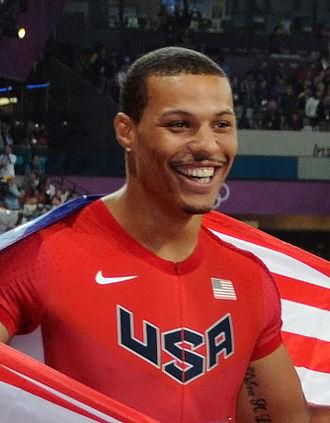 Ryan Bailey (sprinter) - Image: Portrait Ryan Bailey