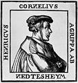 Portrait of Henricus Cornelius Agrippa. Wellcome M0016610.jpg