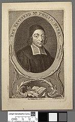Reverend Mr. Philip Henry