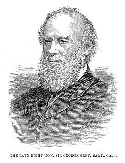 Sir George Grey, 1st Baronet Royal Navy officer