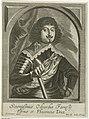 Portret van Odoardo Farnese, hertog van Parma en Piacenza Theatrum pontificum, imperatorum, regum, ducum (serietitel), RP-P-1909-4508.jpg