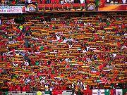 Portugiesische Fans bei der Euro 2004