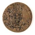 Portugisiskt mynt, 1500-tal - Skoklosters slott - 109472.tif