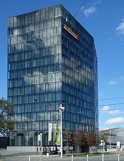 PostFinance headquarters, Bern 2015.jpg