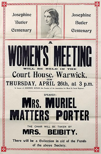 Muriel Matters - Speaking in 1928 to voters