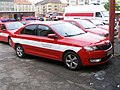 Praha, hasičská stanice Argentinská, Rapid (2).jpg