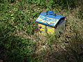 Preclo 9-volt electric fence battery - Cantal France.jpg