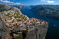 Preikestolen Pulpit Rock Lysefjord Norway.jpg
