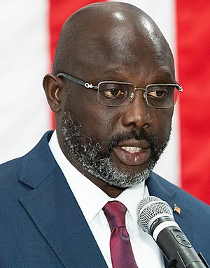 President George Weah in 2019 (cropped).jpg