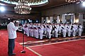 President Rodrigo Duterte administers the oath of office of newly-promoted generals and flag officers at the Rizal Hall.jpg