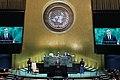 Prezydent Andrzej Duda podczas 74. sesji Zgromadzenia Ogólnego ONZ.jpg