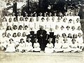 Priest, nun, First Communion Fortepan 101578.jpg